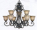 Decorative Chandelier GL3890-9GB