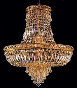 Sa Crystal Chandelier In Custom Colors : All Childrens Lighting